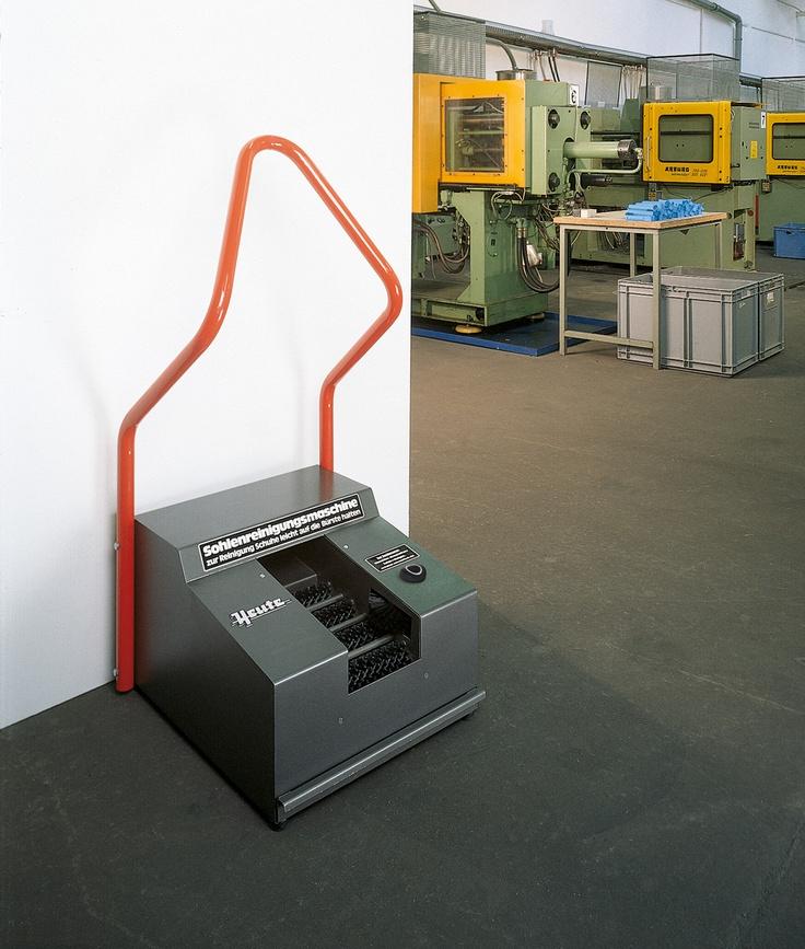 Maszyna stworzona do czyszcenie podeszew