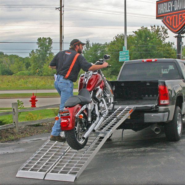 The Big Boy II Motorcycle Ramp System