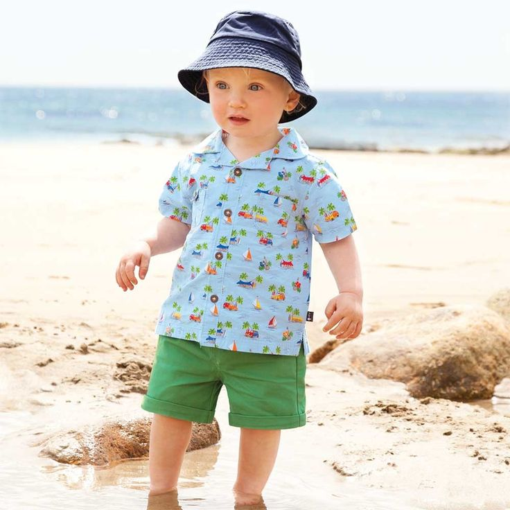 JoJo Maman Bebe - Boys' Hawaiian Shirt