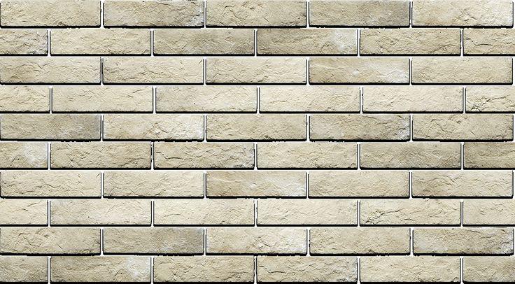 Древний кирпич - искусственный декоративный кирпич LuckyStone. Декоративный искусственный облицовочный фасадный камень. Цвет 02330. Бесшовная текстура