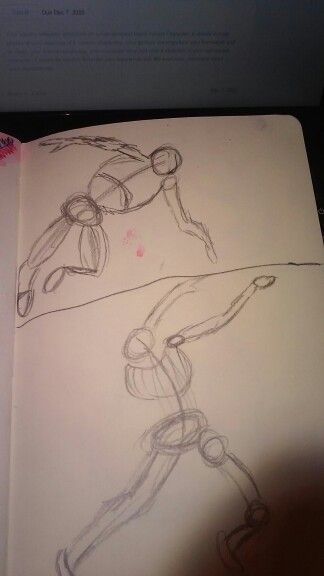 first gesture drawings i tried to use a lot of rapid quick lines