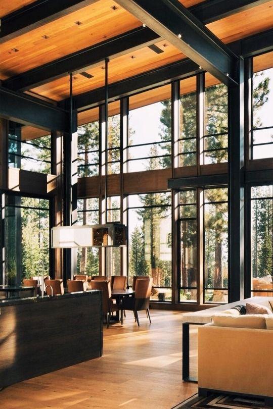 wohnraum einrichten und wohnen haus stahlstruktur wohnzimmerentwrfe wohnzimmer ideen wohnzimer wohnrume stdtisches bauernhaus - Buro Zu Hause Mit Seestuckunglaubliche Bild