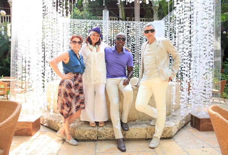 Marcy Blum, Valerie Romanoff, Preston Bailey y Ira Levy @ Hotel Sofitel Santa Clara. Tendencias 2012