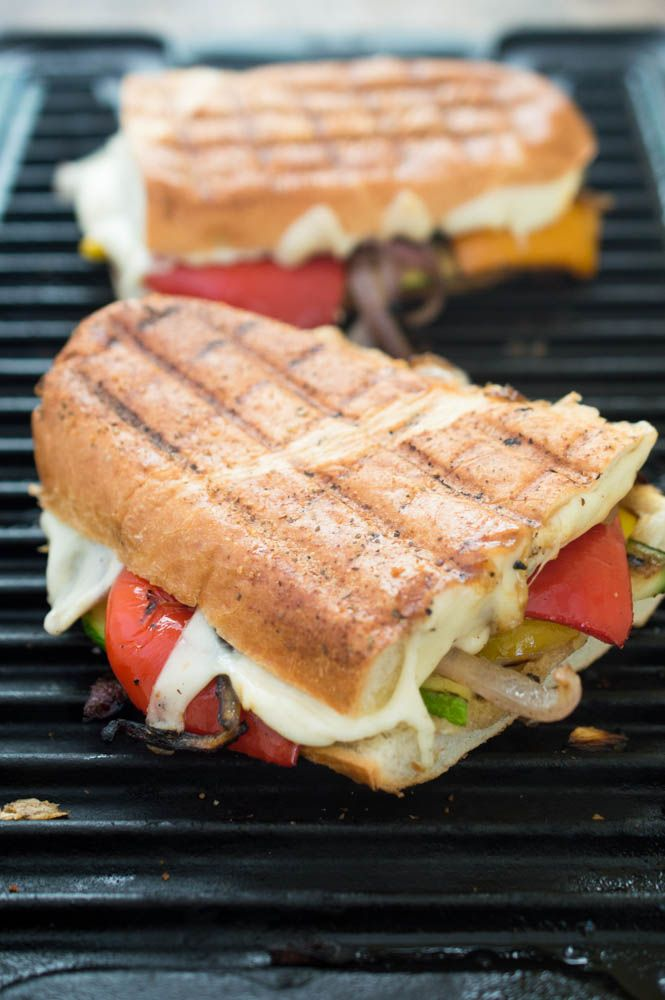 Grilled Vegetable Panini | Recipe