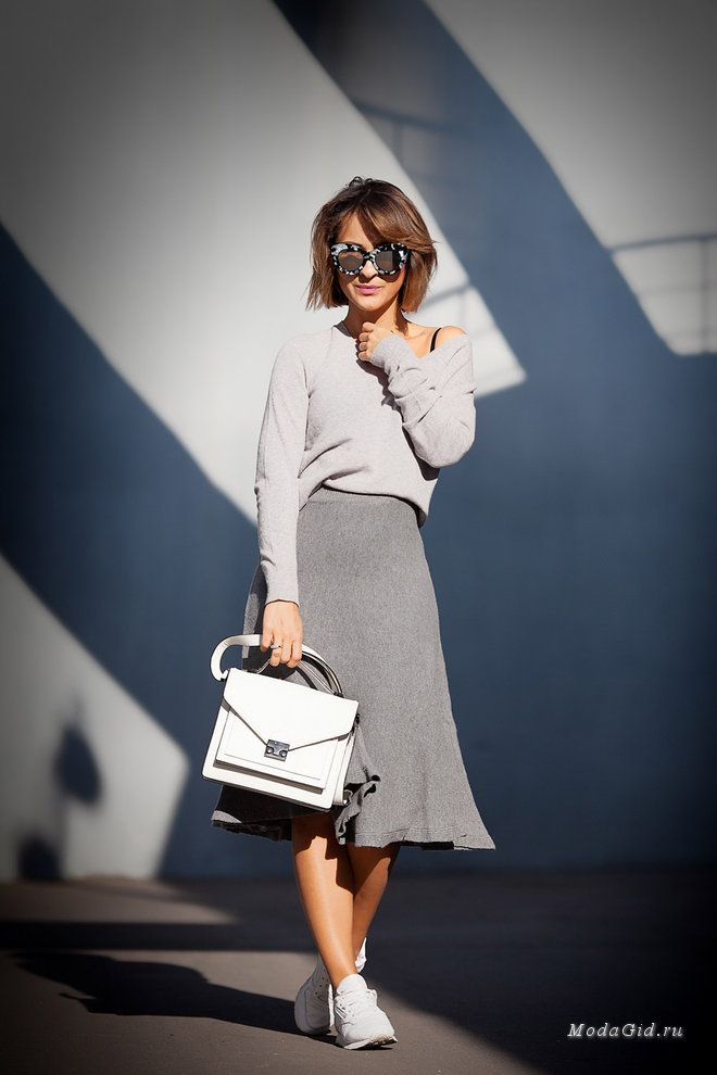 Мода и стиль: Серая осень: как носить серый цвет и быть модным