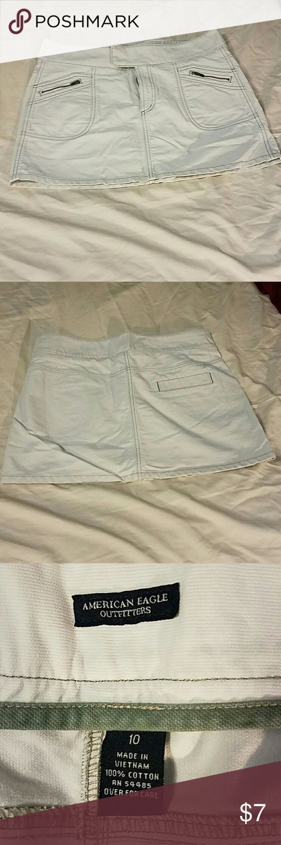 American Eagle Outfitters Khaki Skirt American Eagle Outfitters Khaki Skirt. Size 10. Like new. American Eagle Outfitters Jeans