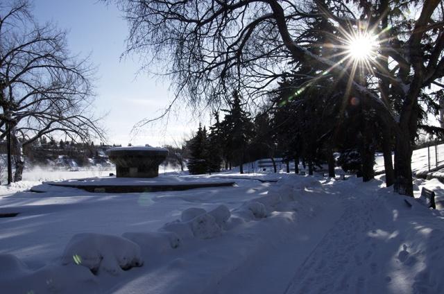 Saskatoon Saskatchewan in the Winter