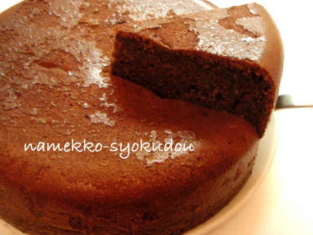●炊飯器で焼く☆HMで生チョコケーキ♡●の画像