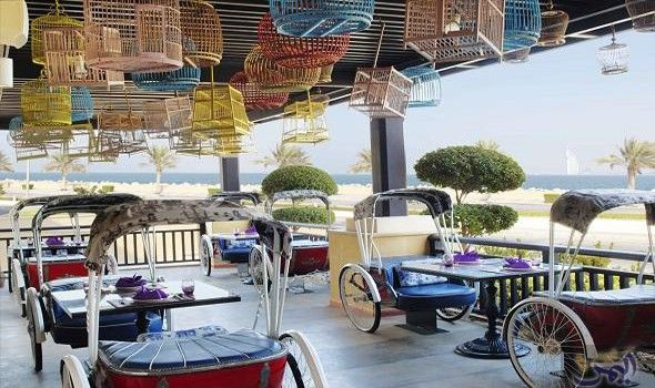مطعم Dubai Resorts Travel Destinations Beach Resort