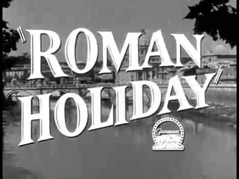 Roman Holiday Trailer  Roman Holiday is a 1953 romantic comedy directed and produced by William Wyler. It stars Gregory Peck as a reporter and Audrey Hepburn as a royal princess out to see Rome on her own. The film mixes the romantic comedy formula of an unlikely couple slowly falling in love with some classic slapstick to create a movie that's tough not to be delighted by. It's charm in itself and an unfailing lovely fairy tale.