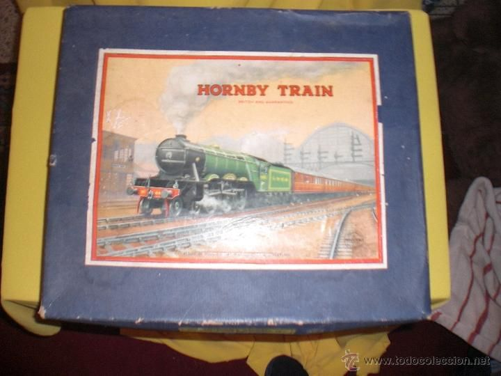 HORNBY TRAIN SET MADE IN ENGLAND, TREN ANTIGUO , JUGUETE ANTIGUO