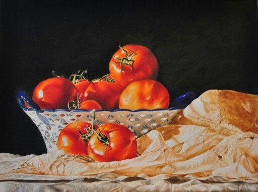 Ripe Harvest by Teresa Heath. http:// m.facebook.com /pnclartst