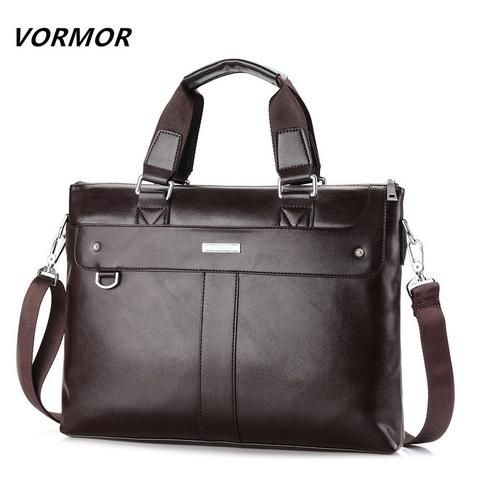 VORMOR 2016   Men's Shoulder Bag Leather