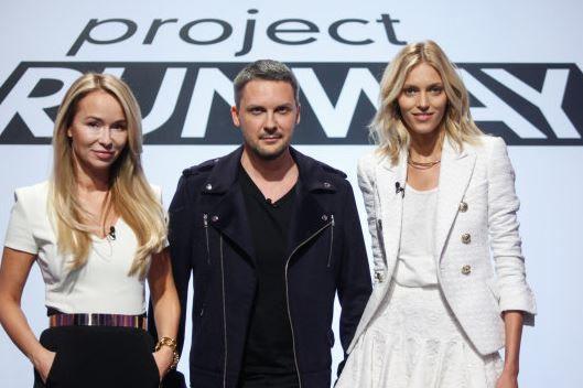 Joanna Przetakiewicz, Mariusz Przybylski & Anja Rubik