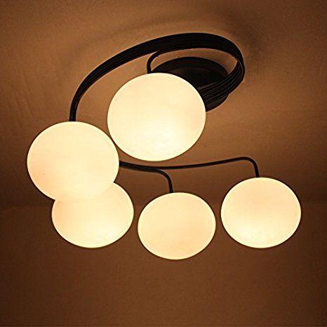 Engel Stall Moderne Led E27 Deckenlampe Wohnzimmerlampe Schlafzimmerlampe Deckenleuchte Lampe Decke Lichterketten Brodeckenleuchten Modernes Glas Eisen