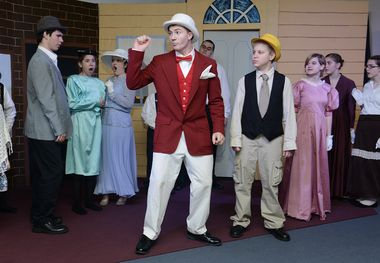 Music man junior in the music man jr at the 82nd street theatre