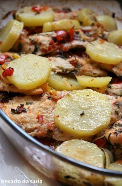 Blog de receitas culinárias com fotos.