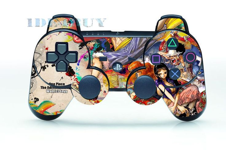 Amazing Sexy Cartoon Skin Sticker Parts for PS3 Controller Playstation 3 Games #UnbrandedGeneric #AmazingSexyCartoon