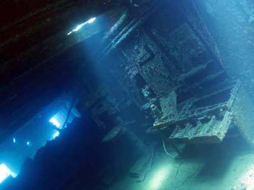 wreck dive (red sea)