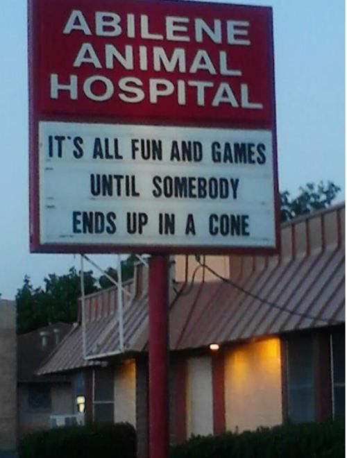 This makes me wish I had a dog just so I could go visit this place.: Funny Signs, Dogs Humor, Funny Stuff, So True, Fun Games, So Funny, Hospitals Humor, Pet Humor, True Stories