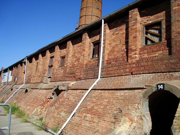 Old brick factory 2010, Brunswick Melbourne Australia
