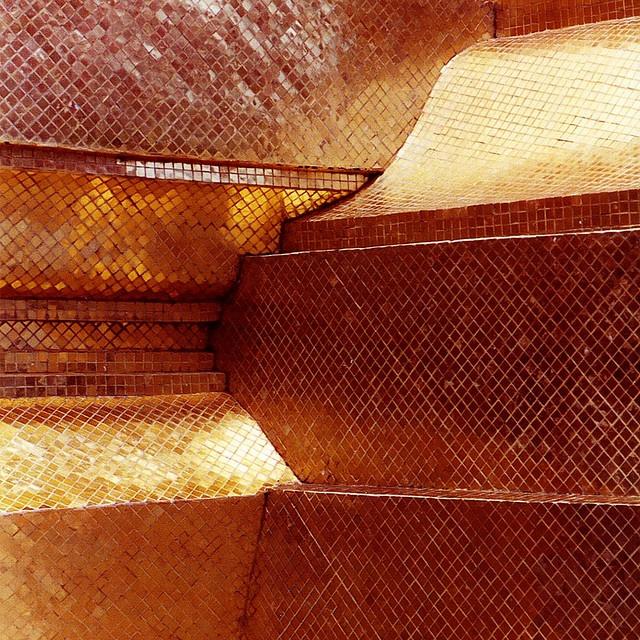 Thailand - Bangkok - Grand Palace - Gold Chedi detail