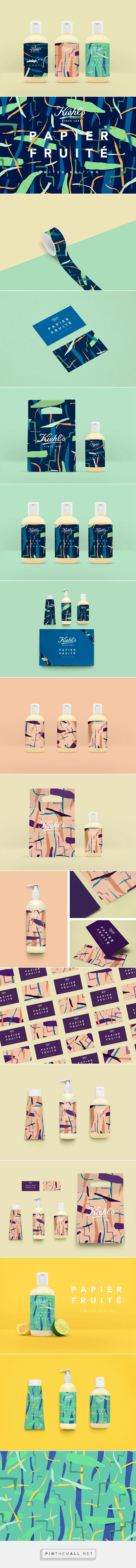 Kiehl's - Papier Fruité on Behance by Don't Try Studio curated  by Packaging Diva PD. Fun conceptual packaging project.