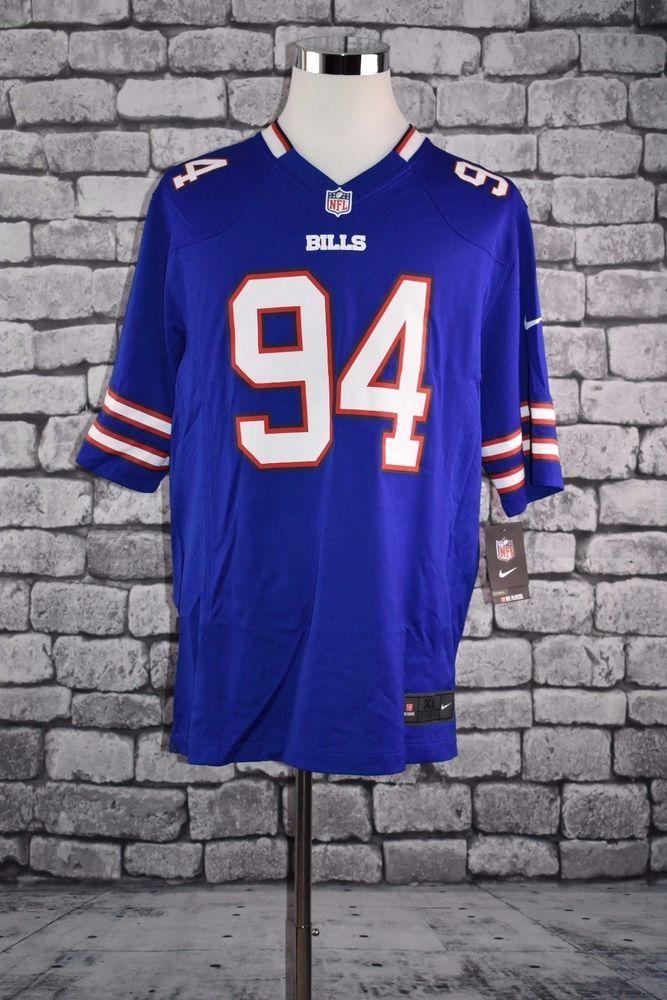 Nike Men's Buffalo Bills Mario Williams Football Jersey XLARGE NWT #Nike #BuffaloBills
