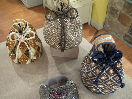 Mochilas/handbags made bY Silvia Tcherassi. I want!