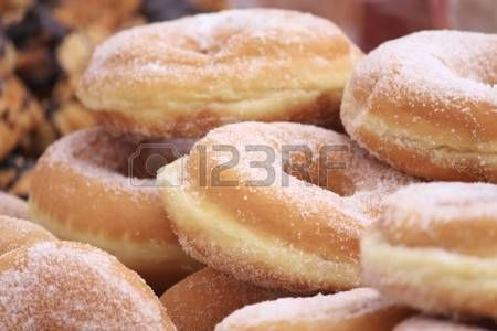 Sugared donuts