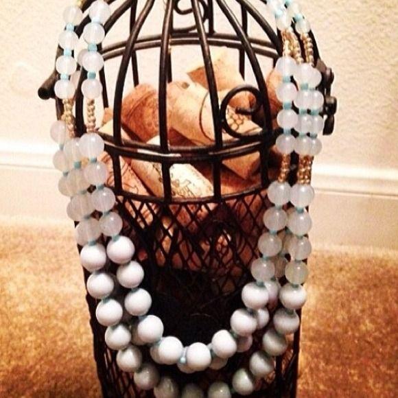 "Selling this ""Blue Genie Necklace"" in my Poshmark closet! My username is: shenzijewelry. #shopmycloset #poshmark #fashion #shopping #style #forsale #Jewelry"