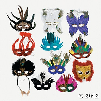 Deluxe Masquerade Mask Assortment: Masque Ball, Deluxe Masquerade, Masquerade Masks, Feathers Masks, Masks Masquerades, Photo Booths, Party Idea, Delux Masquerades, Masks Assort