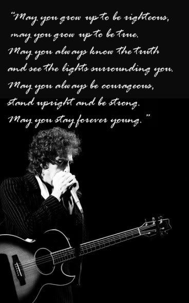 stay forever young...happy birthday to a man who will always stay forever young in my mind's eye. Thanks mister. Love you.