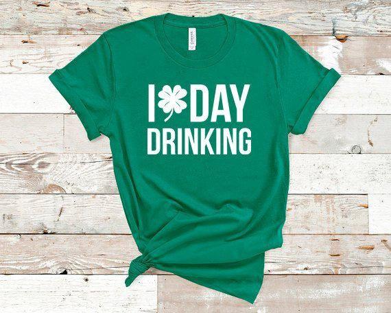 I Am Lucky Teacher Patricks Day S Gildan Long Sleeve Tee T-Shirt Funny St