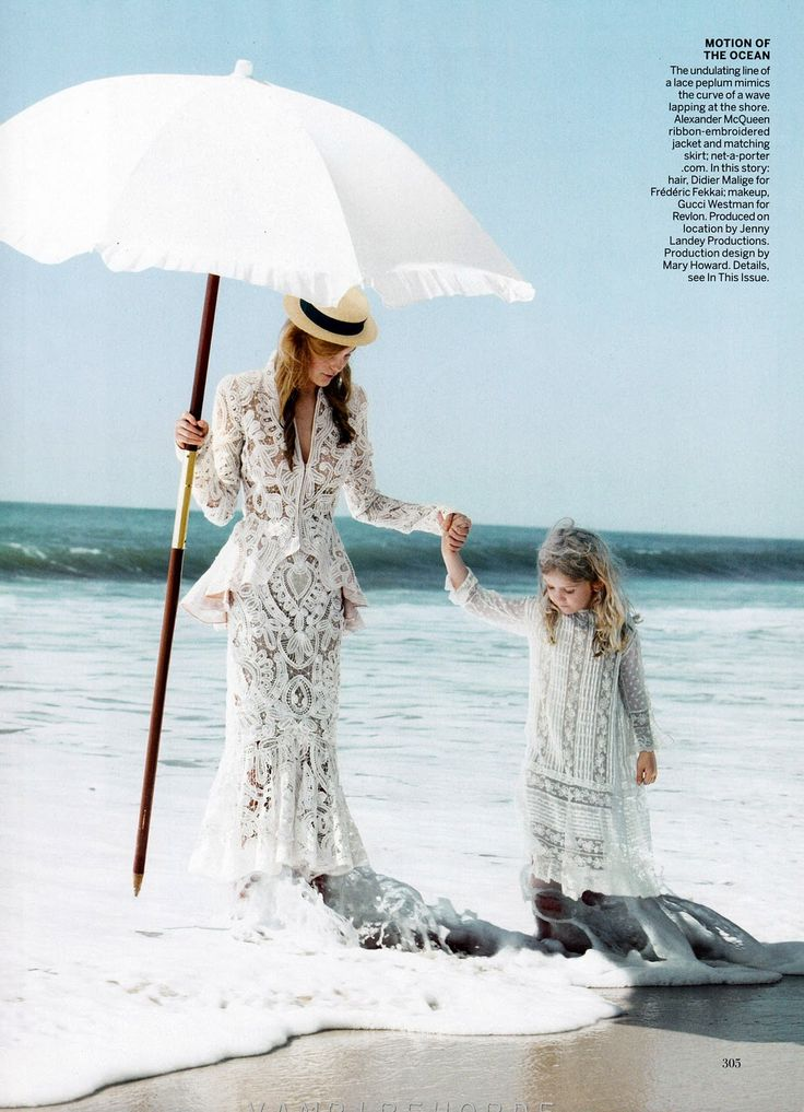swept away: caroline trentini by patrick demarchelier for vogue us november 2011