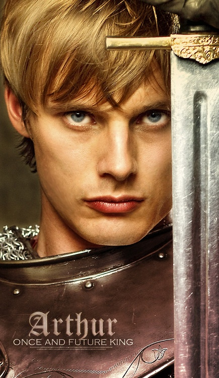 Arthur is the prettiet of them all... (except maybe Gwaine)  #Merlin