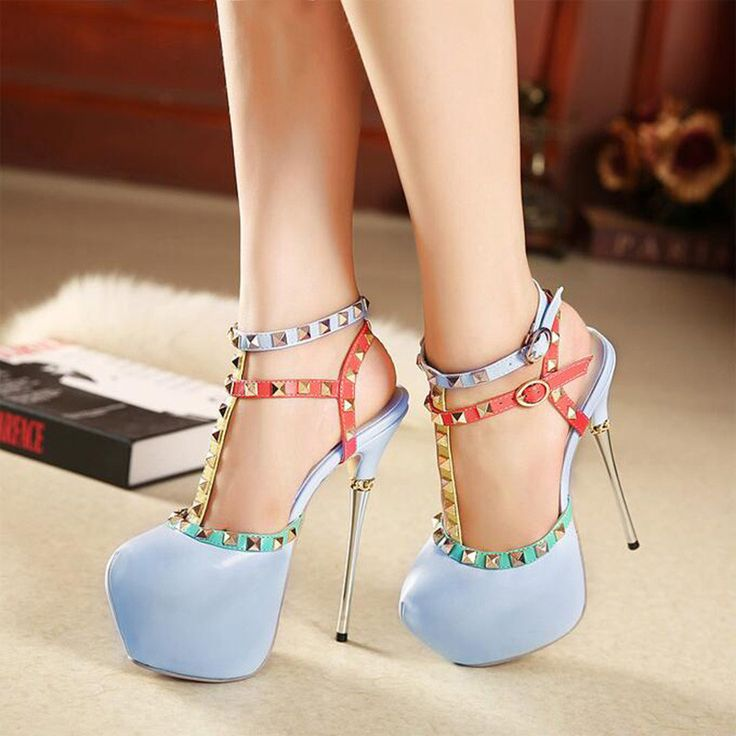 Click to order 2017 Spring Summe... If you like please click the like button button http://isaledresses.com/products/2017-spring-summer-fashion-rivets-platform-women-pumps-sexy-extreme-high-heels-brand-blue-red-stiletto-high-heeled-shoes-xp35?utm_campaign=social_autopilot&utm_source=pin&utm_medium=pin  Global Shipping!