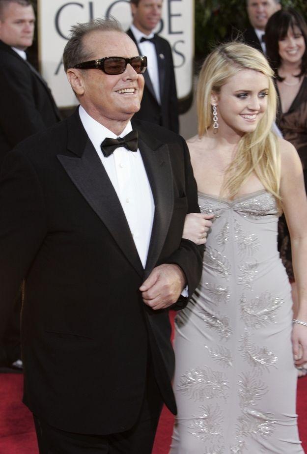 Lorriane and Jack Nicholson!