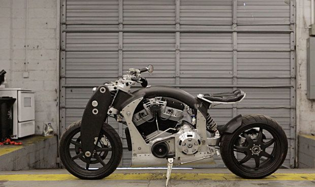 Cool Hunting Video: Confederate Motorcycles: A vision of the essence of American motorcycles seen in powerful sculptural machines