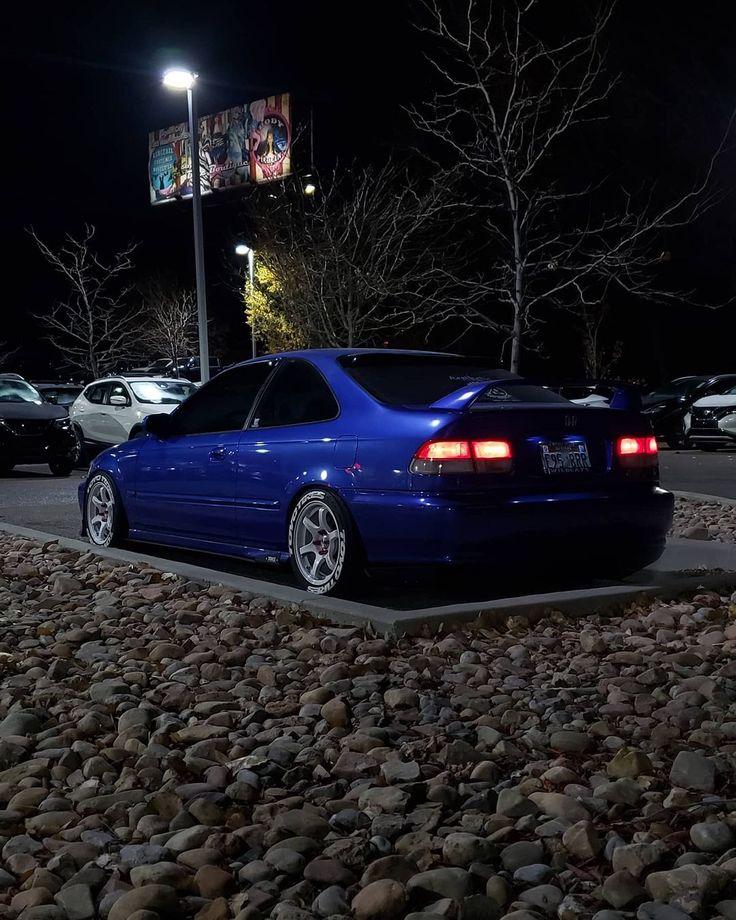 Honda Civic Coupe, Honda Civic Si, Tuner Cars, Jdm Cars, Ek Hatch, Honda Cars, Japan Cars, Future Car, Muscle Cars