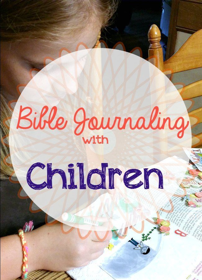 Today I'm sharing with you my tips for Bible journaling with children. This is a fun, hands on way for children to spend time in the Word.