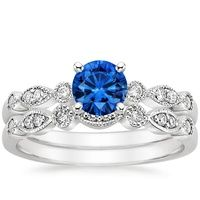 stores SAPPHIRE Engagement Rings  Sapphire   I GOLD outlet   jewelry MATCHED   SET   K  Tiaras WHITE Sapphire and online TIARA Do