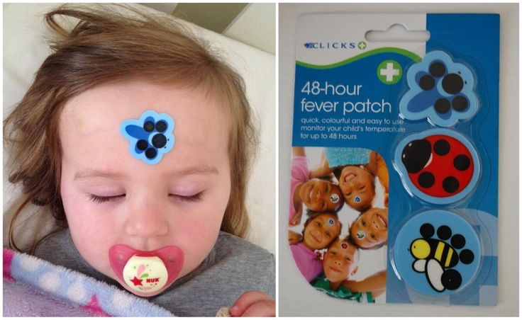 Clicks 48-hour patch is an easy way to continuously check your child's temperature when they are fussy or sleeping. Patch lasts for 48 hours on forehead, armpit or chest.