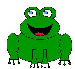 This site has all sorts of crafting templates. We're going to make the frog for a friend for his birthday!