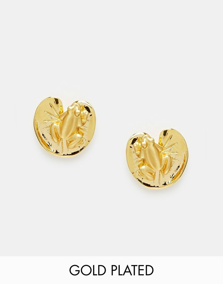 Image 1 ofBill Skinner Frog Earrings