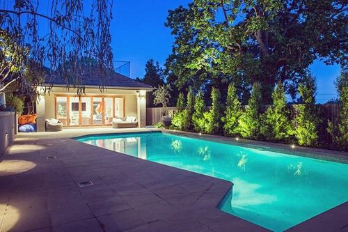 With a hot few days ahead in Melbourne the owners of this pool in Hawthorn will be glad that we revamped their outdoor lighting so that they can cool down late into the evening.  You can see the rest of this home lighting project on our website http://ift.tt/1PmPidA  #Melbourne #pool #melbourneelectrician #hawthorn #lighting #outdoorlighting #livelifeoutdoors #design #exteriordesign #heatwave #cooldown #gardenlights #lifestyle #jobs