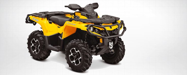 Can-Am All-Terrain Vehicles    Discover the BRP Can-Am all-terrain vehicle line-up    BRP's new Can-Am ATV line-up is led by the next-generation Outlander MAX family, all-new Outlander 1000 X mr ATV, an added Dynamic Power Steering (DPS) package and other key models and upgrades for the new year including completely new Outlander 500 and 650 ATV line-ups.  See the new line-up