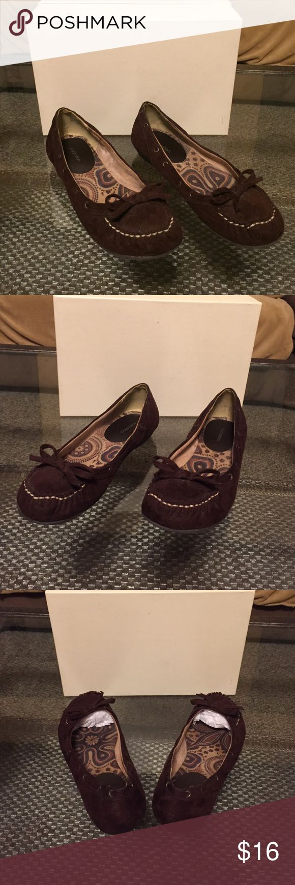Brown Suede Moccasins Cute and Comfy Moccasins - A Great Companion for any Casual Outfit; Wear with Jeans, Capris, Shorts, Dresses or Skirts! ☺️👍 Other