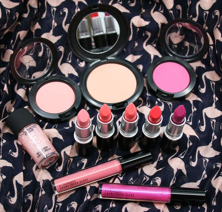 MAC Flamingo Park Collection - love the blushes!