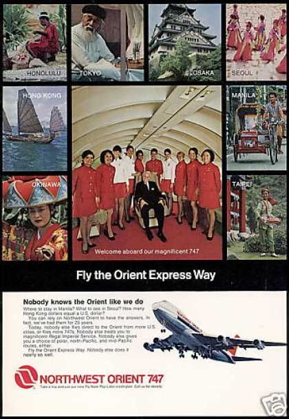 Northwest Airlines ~ Boeing 747